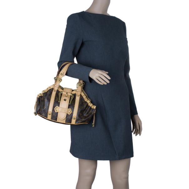 Louis Vuitton Monogram Canvas Theda Tote PM