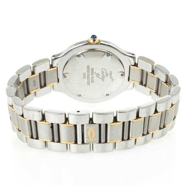 Must de Cartier 21 SS Womens Wristwatch 30 MM