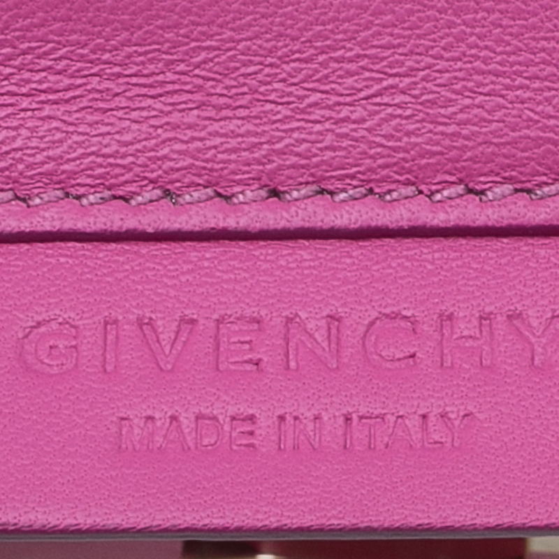 Givenchy Pink Leather Shark Corssbody Bag