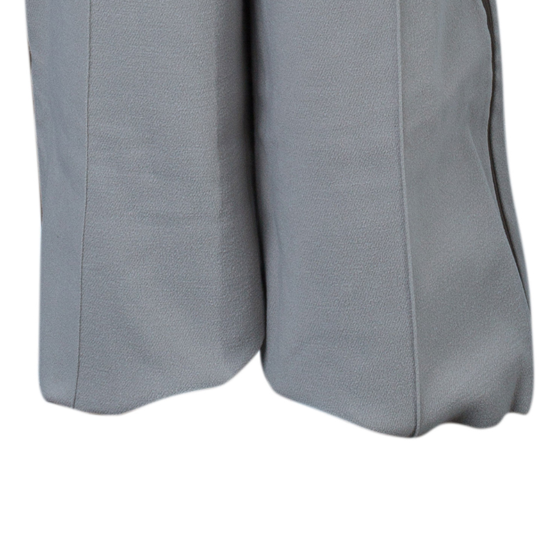 Chloe Beige Wool Tapered Trousers