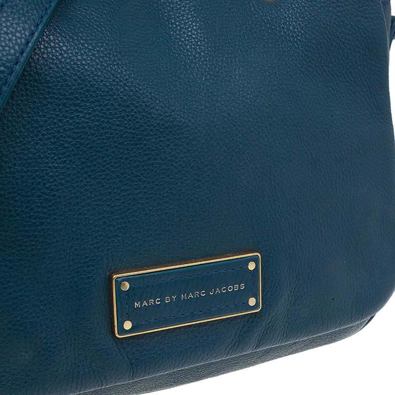 Marc by Marc Jacobs Green Leather Too Hot To Handle Shoulder Bag