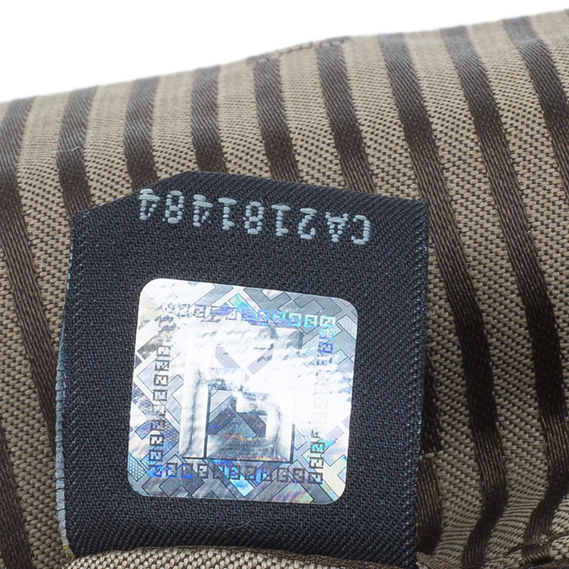 Fendi Black Patent Leather Anna Shoulder Bag