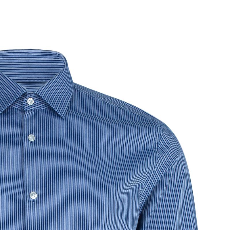 BOSS By Hugo Boss Pinstripe Formal Shirt L