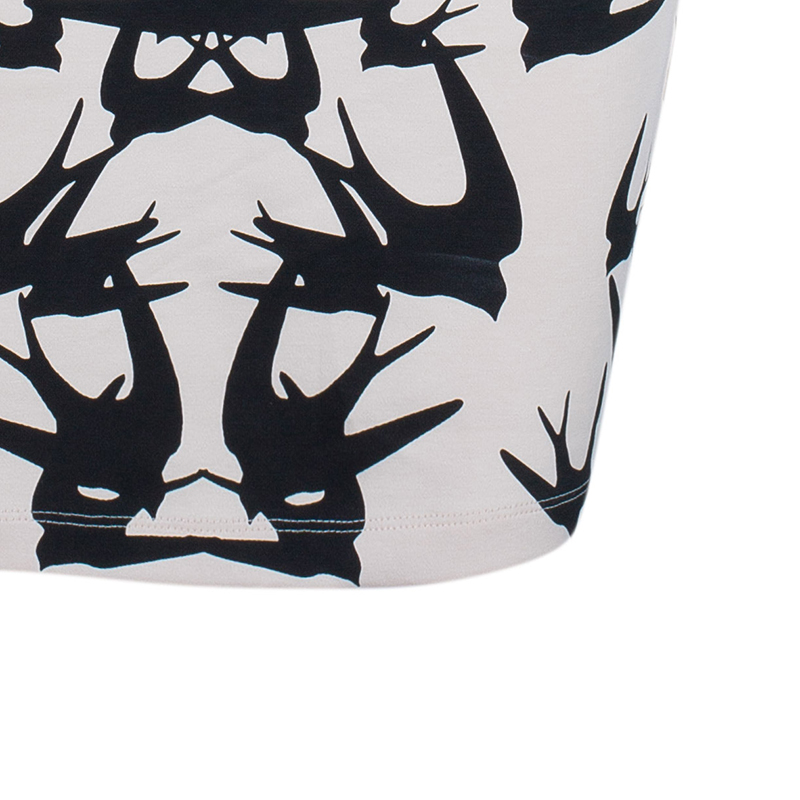 McQ by Alexander McQueen Swallow Print Dress L