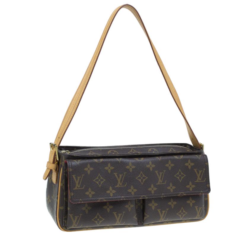 Louis Vuitton Monogram Canvas Viva Cite MM Bag