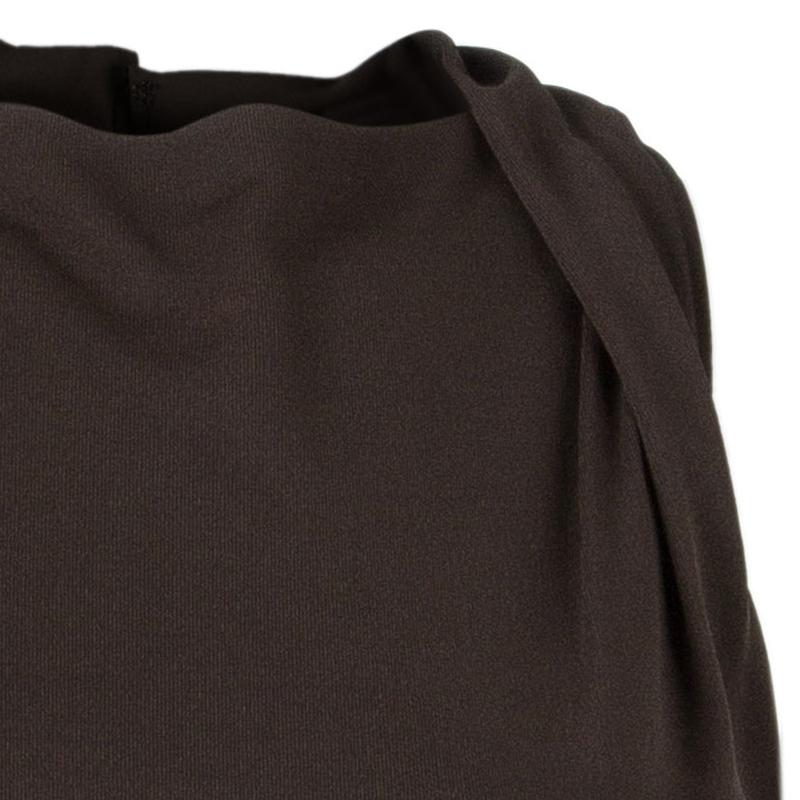 Vera Wang Brown Sleeveless Dress XS