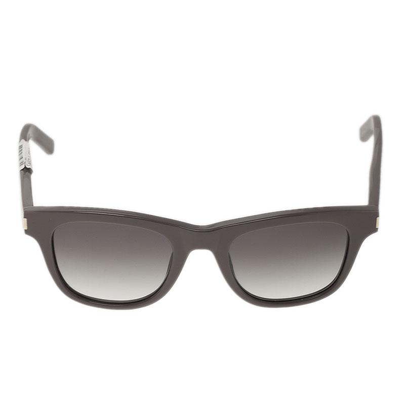 Saint Laurent Paris Grey Square Sunglasses