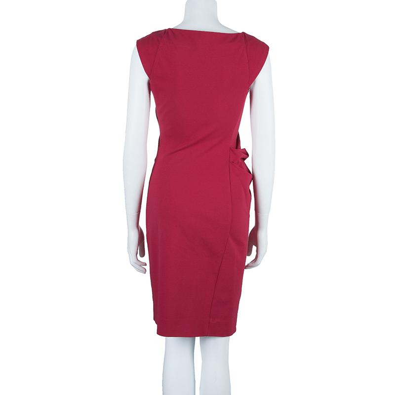 Diane Von Furstenberg Pink Gabi Knit Dress S