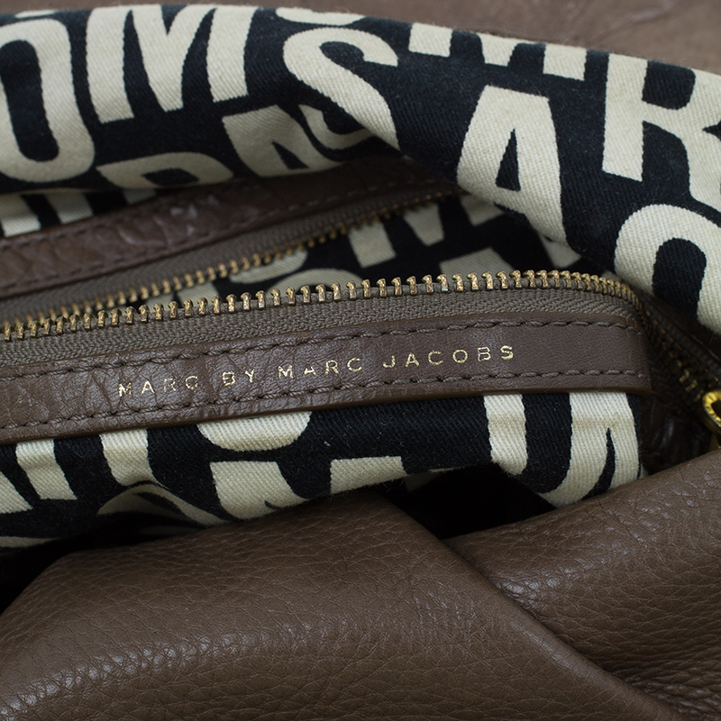 Marc by Marc Jacobs Brown Leather Classic Q Natasha Crossbody Bag