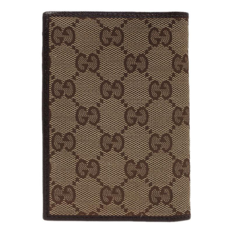 Gucci Beige Guccissima Canvas Bi Fold Wallet