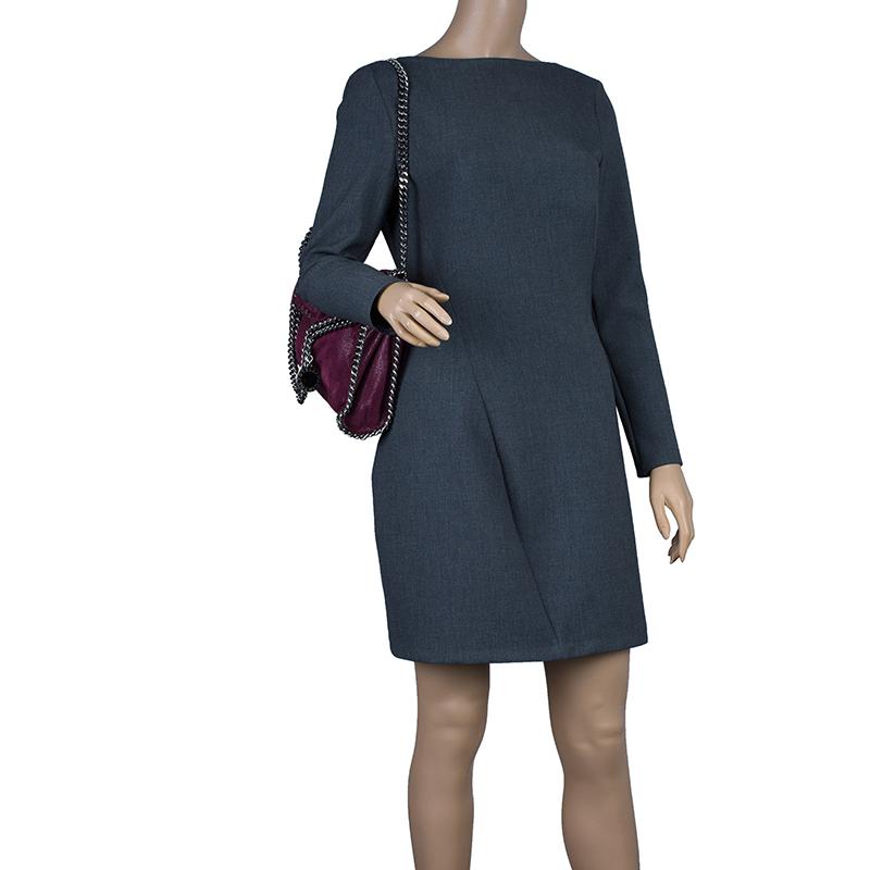 Stella McCartney Purple Shaggy Deer Falabella Shoulder Bag