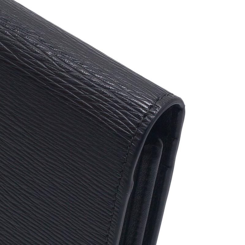 S.T. Dupont Black Flap Wallet