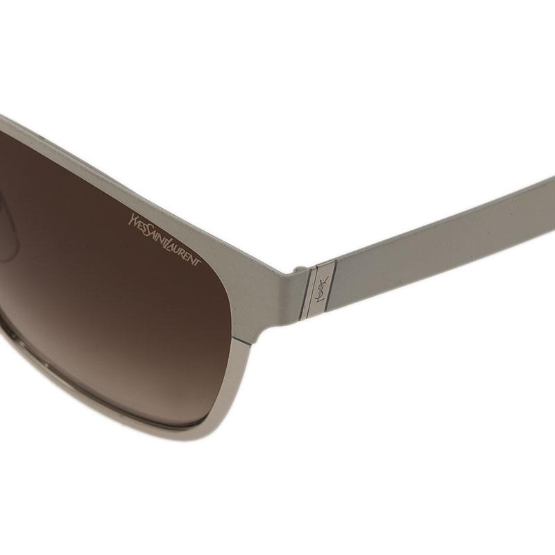 Saint Laurent Paris White 2334 Sunglasses
