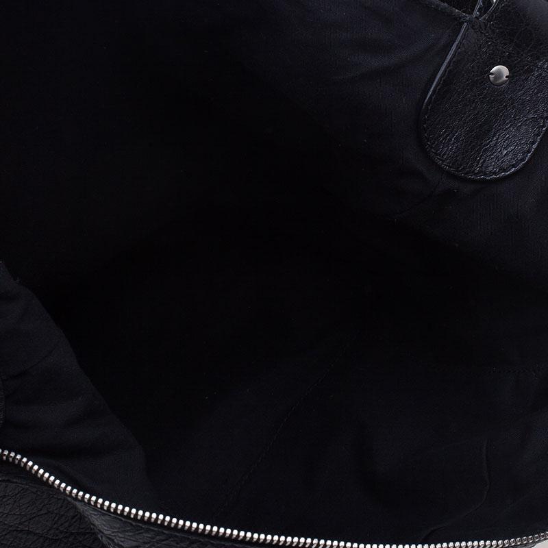 Balenciaga Black Arena Classic Cross Day Messenger Bag