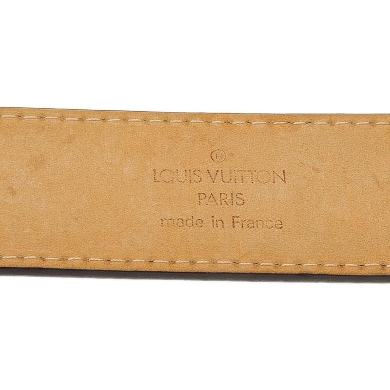 Louis Vuitton Monogram Canvas Limited Edition Dentelle Belt 95CM