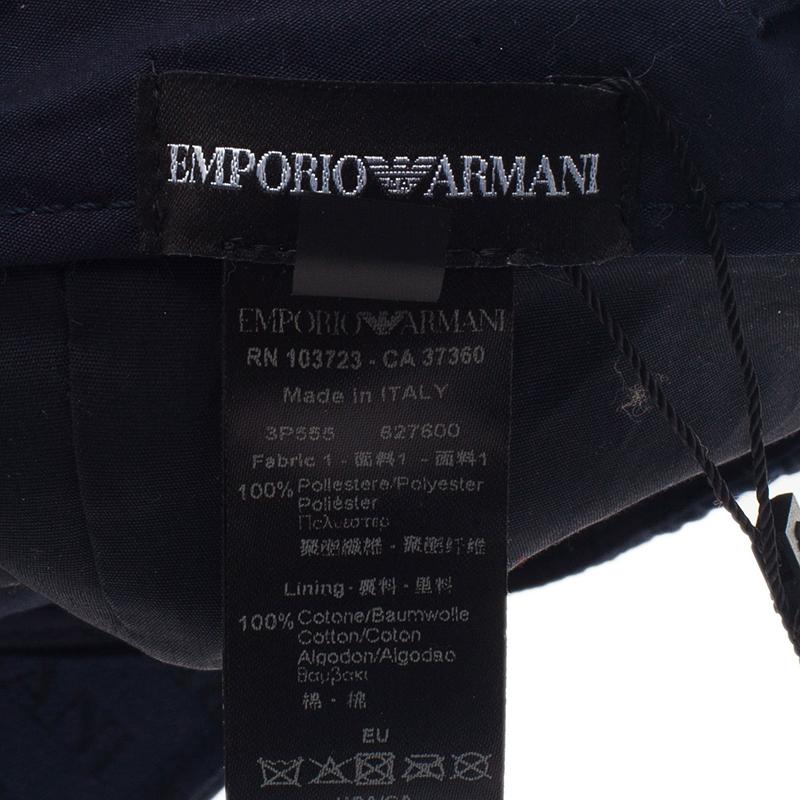 Emporio Armani Blue Logo Baseball Cap Size L