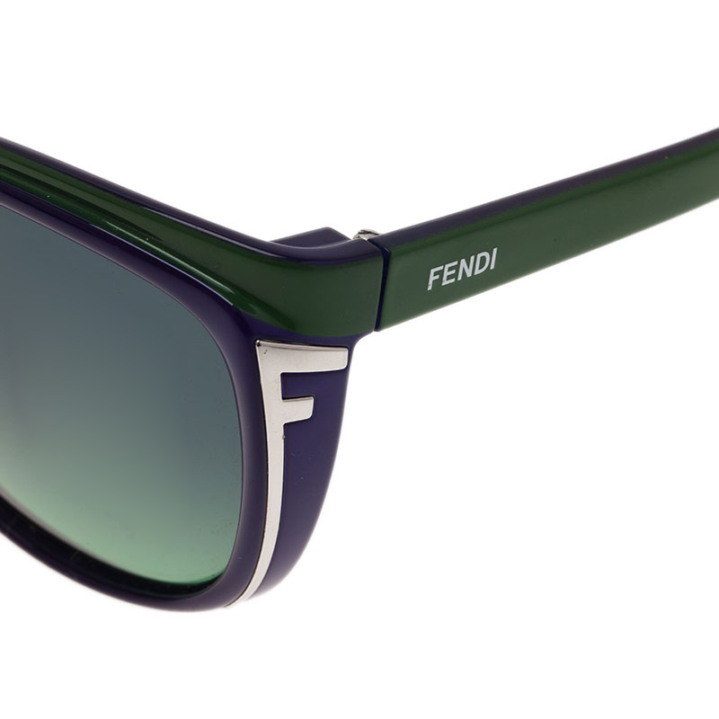 Fendi Two Tone FS5283 Cat Eye Sunglasses