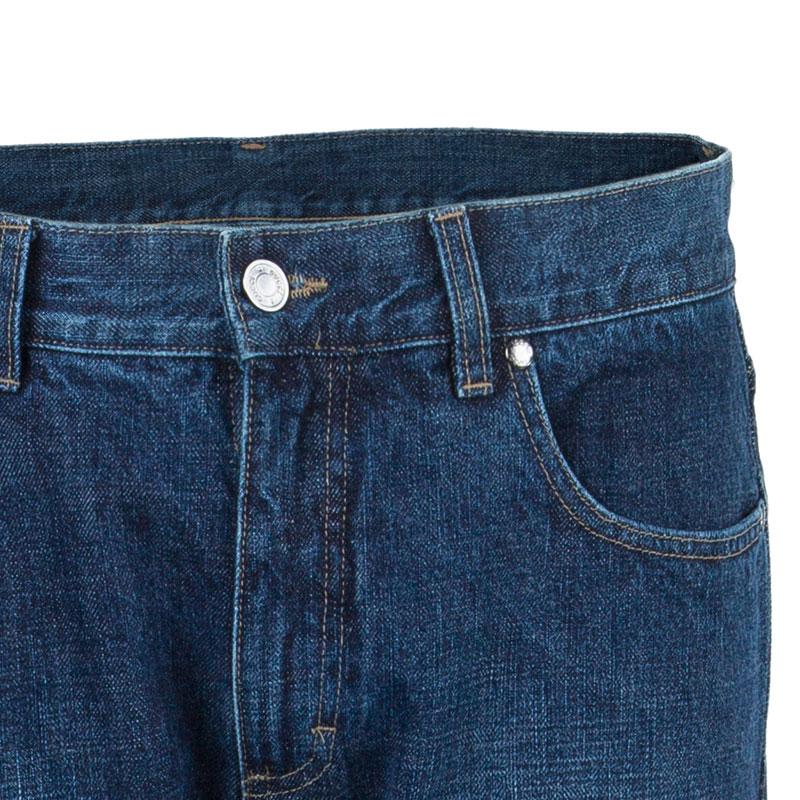 Gucci Men's Blue Straight Fit Denim Jeans M