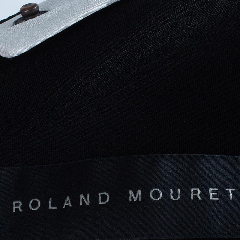 Roland Mouret Monochrome Jumpsuit M