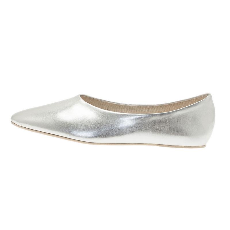 Stella McCartney Silver Loafers Size 41